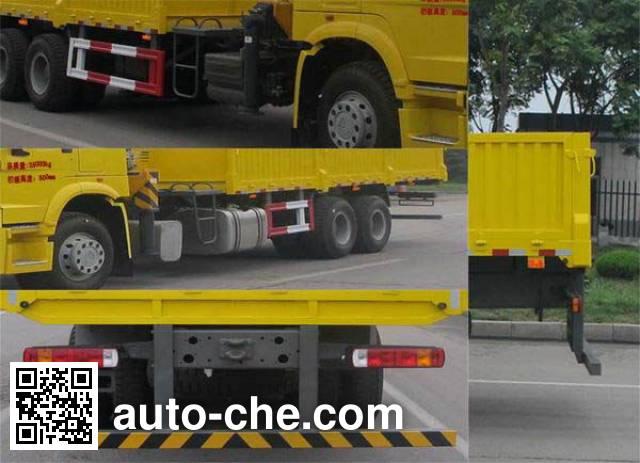 Shengyue SDZ5257JSQD truck mounted loader crane
