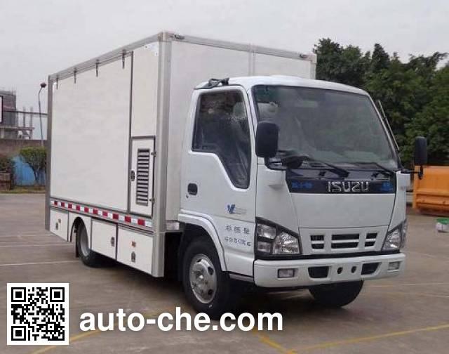 东风牌SE5070XDW4流动服务车