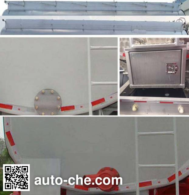 Jingyanggang SFL9400GLYP liquid asphalt transport tank trailer