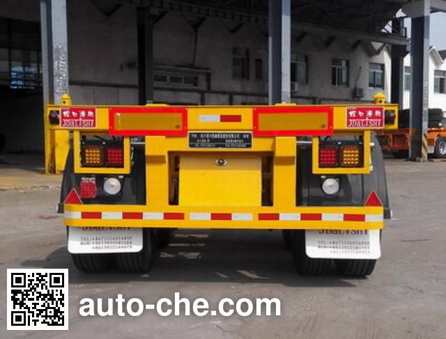 Shekou Port Machinery SGJ9351TJZG container transport trailer