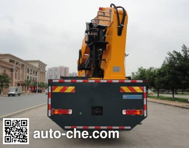 Shaoye SGQ5310JSQQHG4 truck mounted loader crane
