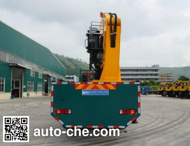 Shaoye SGQ5310JSQZHG5 truck mounted loader crane