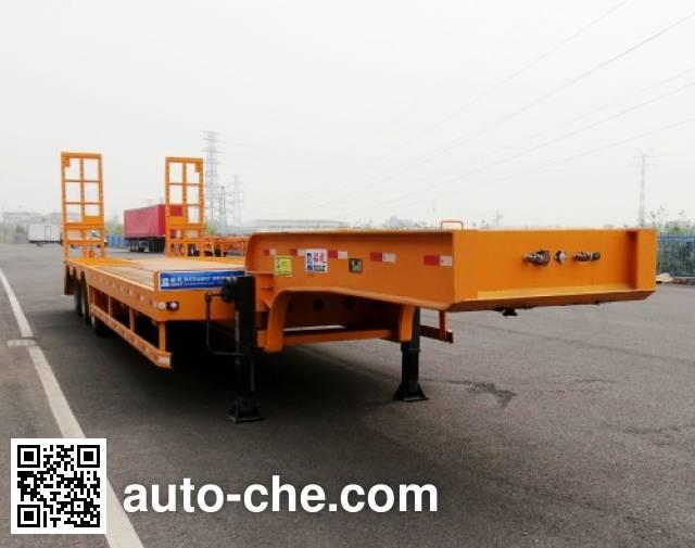 韶液牌SGQ9400TDP低平板半挂车
