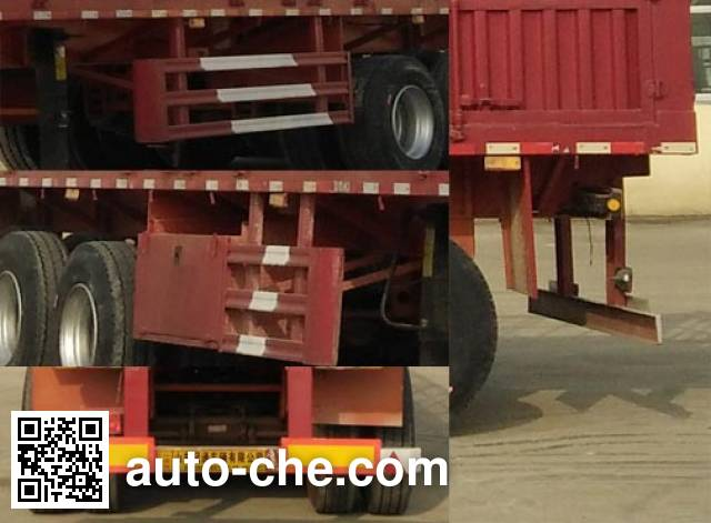 Shantong SGT9401CCY stake trailer