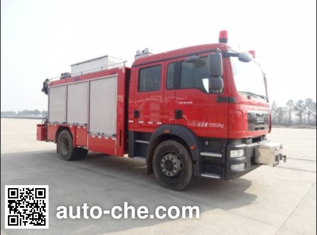 上格牌SGX5130TXFJY80/M抢险救援消防车