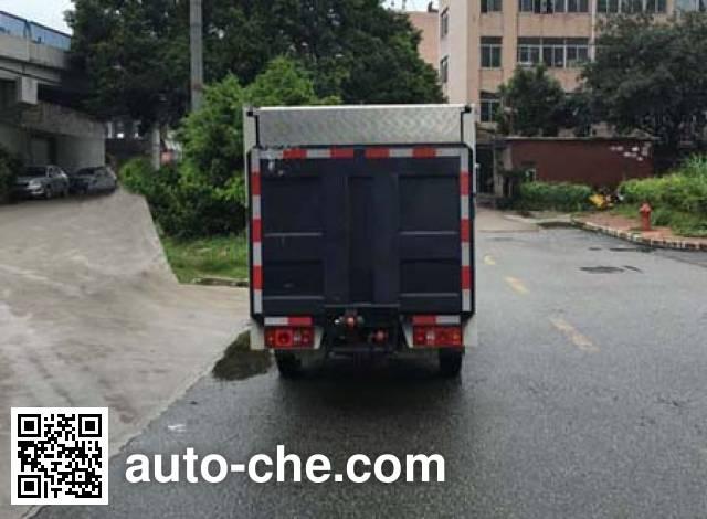 华威驰乐牌SGZ5020XTYSC5密闭式桶装垃圾车