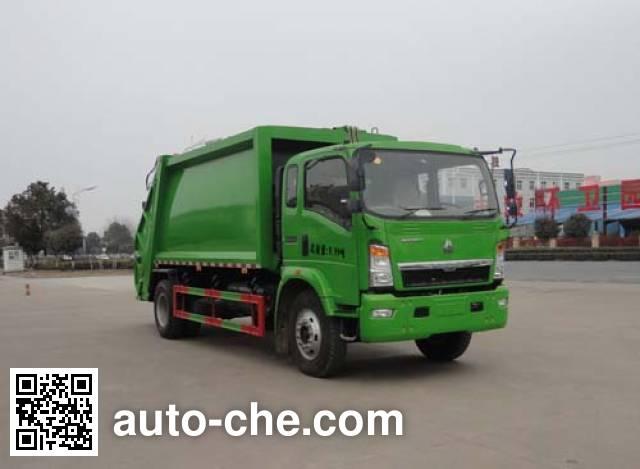 华威驰乐牌SGZ5100ZYSZZ5压缩式垃圾车