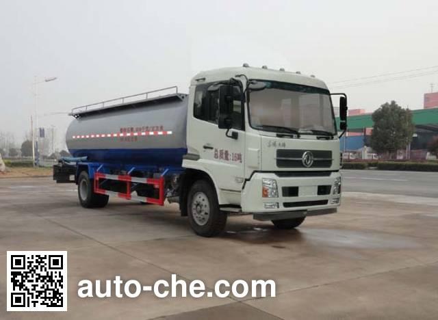 Sinotruk Huawin SGZ5160GFLD4BX5 low-density bulk powder transport tank truck