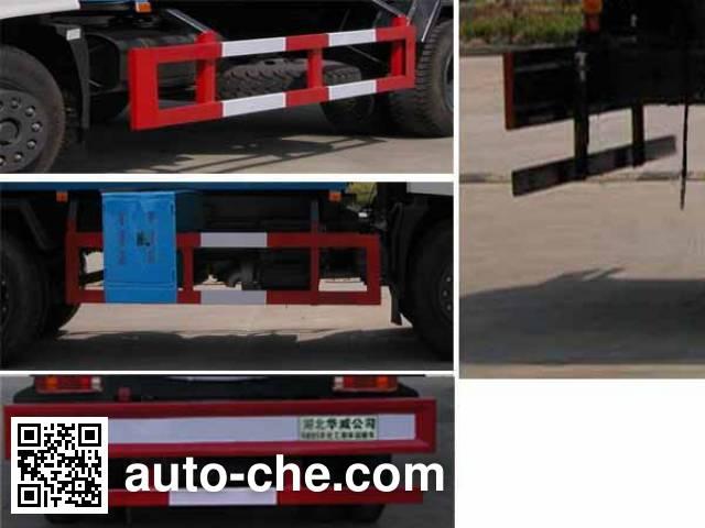 Sinotruk Huawin SGZ5160GHYZZ3 chemical liquid tank truck