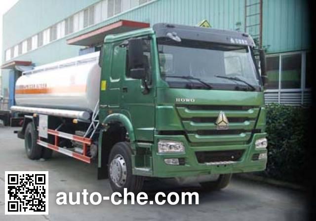 Sinotruk Huawin SGZ5160GRYZZ4W flammable liquid tank truck
