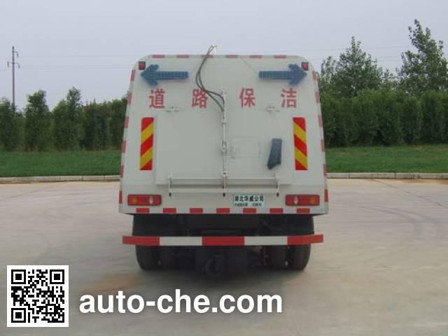 Sinotruk Huawin SGZ5160TSLD4BX4 street sweeper truck
