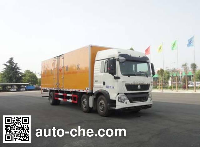 华威驰乐牌SGZ5250XRYZZ5T5T易燃液体厢式运输车