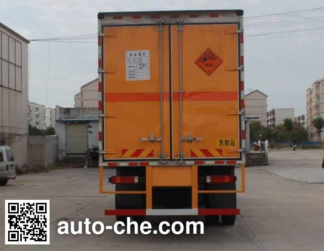 华威驰乐牌SGZ5238XRYZZ5T5易燃液体厢式运输车