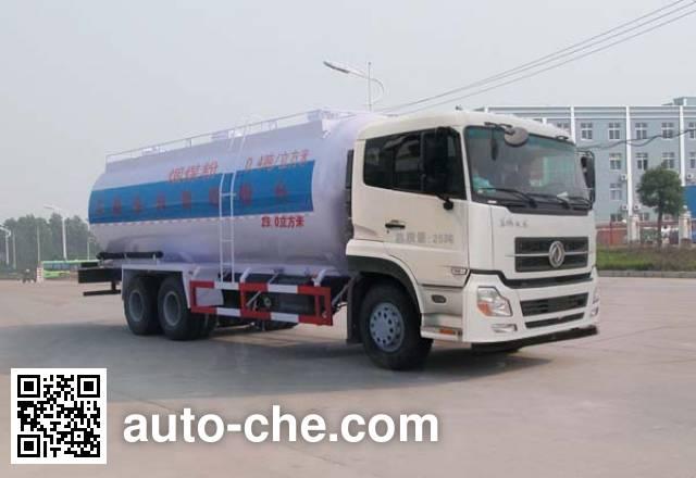 华威驰乐牌SGZ5250GFLD4A11低密度粉粒物料运输车