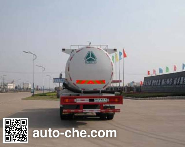 Sinotruk Huawin SGZ5250GFLZZ4J52 low-density bulk powder transport tank truck