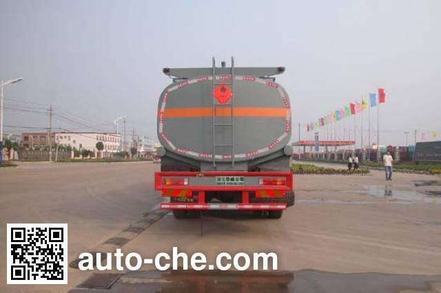 华威驰乐牌SGZ5250GRYZZ4W52易燃液体罐式运输车
