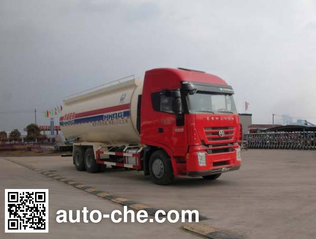 Sinotruk Huawin SGZ5250GFLCQ4 low-density bulk powder transport tank truck