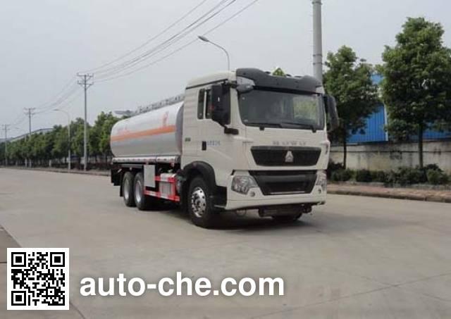 华威驰乐牌SGZ5250GYYZZ5T5运油车