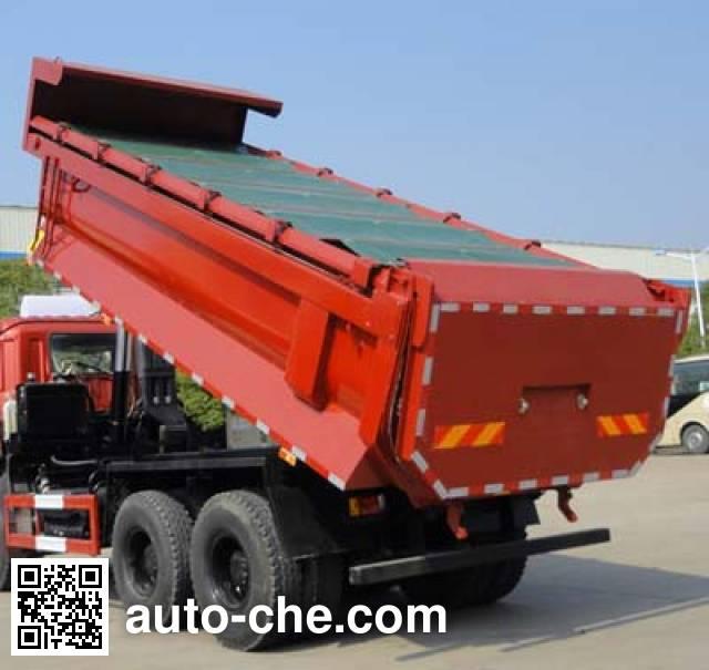 华威驰乐牌SGZ5255ZLJZZ4自卸式垃圾车