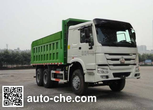 华威驰乐牌SGZ5250ZLJZZ4W41自卸式垃圾车
