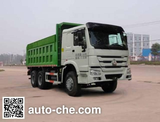 华威驰乐牌SGZ5250ZLJZZ4W46自卸式垃圾车