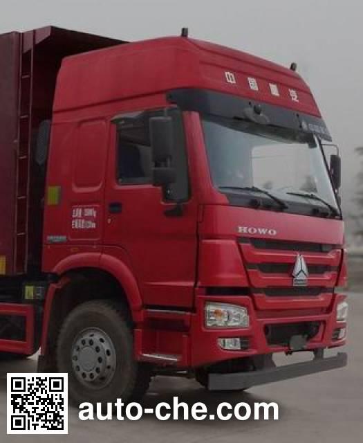 Sinotruk Huawin SGZ5250ZLJZZ5W41 dump garbage truck