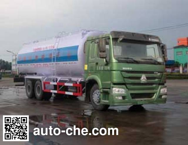 Sinotruk Huawin SGZ5251GGHZZ4W dry mortar transport truck