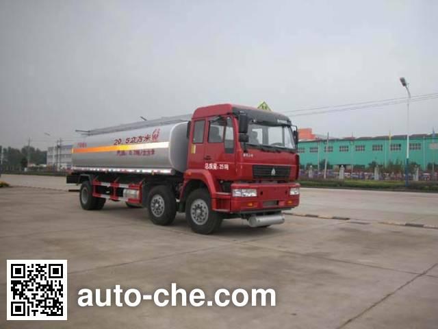 Sinotruk Huawin SGZ5254GHYZZ3 chemical liquid tank truck
