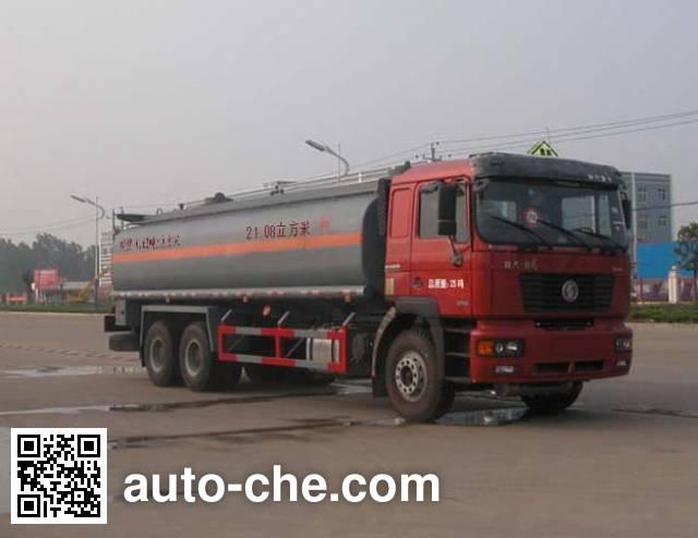 Sinotruk Huawin SGZ5255GHYSX3 chemical liquid tank truck