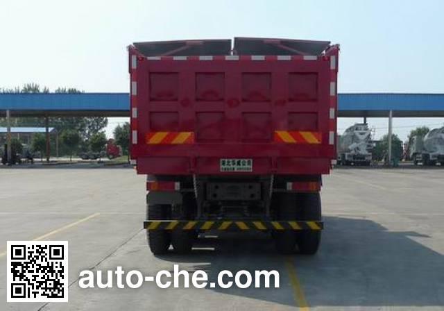 华威驰乐牌SGZ5250ZLJZZ5J7自卸式垃圾车