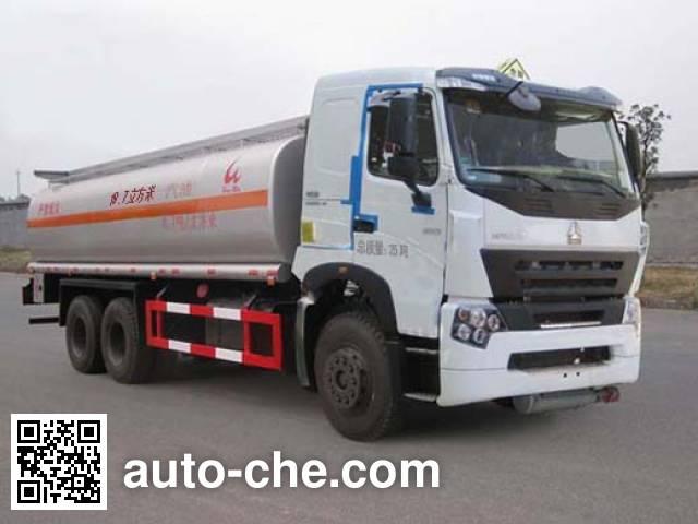 Sinotruk Huawin SGZ5258GHYZZ3W461 chemical liquid tank truck