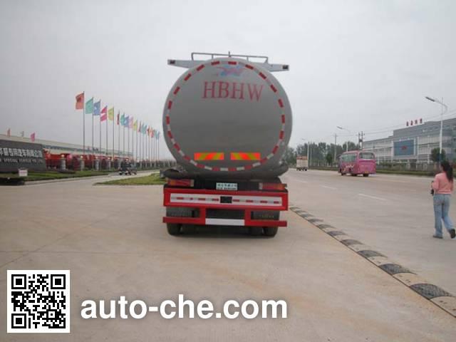 华威驰乐牌SGZ5259GFLZZ3W460粉粒物料运输车