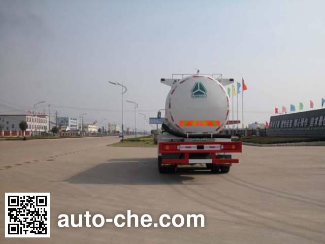 华威驰乐牌SGZ5259GFLZZ3W521粉粒物料运输车