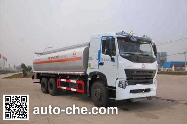 Sinotruk Huawin SGZ5259GHYZZ3W461 chemical liquid tank truck