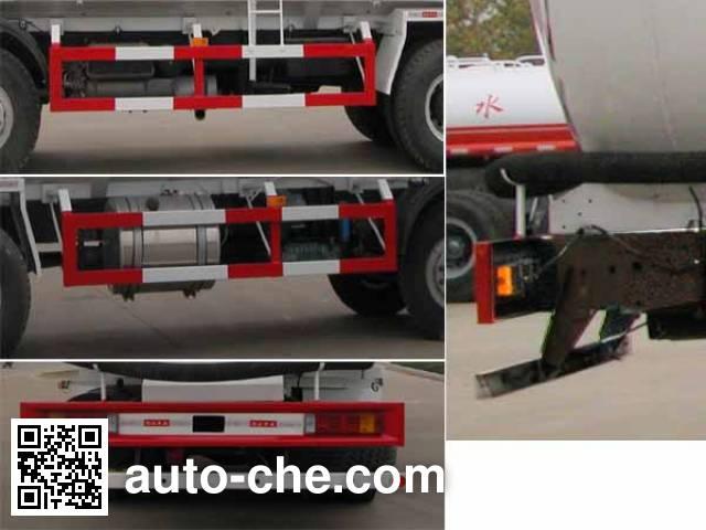 华威驰乐牌SGZ5318GFLZZW46粉粒物料运输车