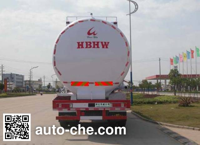 华威驰乐牌SGZ5310GFLD4A10低密度粉粒物料运输车