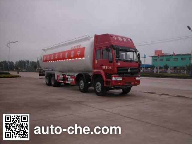 华威驰乐牌SGZ5310GFLZZ3J38粉粒物料运输车