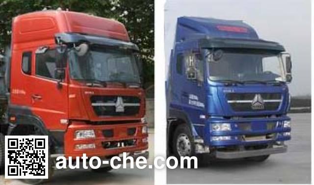 Sinotruk Huawin SGZ5310GFLZZ4D7 low-density bulk powder transport tank truck