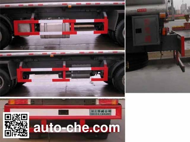 Sinotruk Huawin SGZ5310GHYZZ3W chemical liquid tank truck
