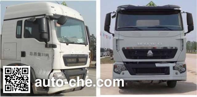 Sinotruk Huawin SGZ5310GYYZZ5T5 oil tank truck
