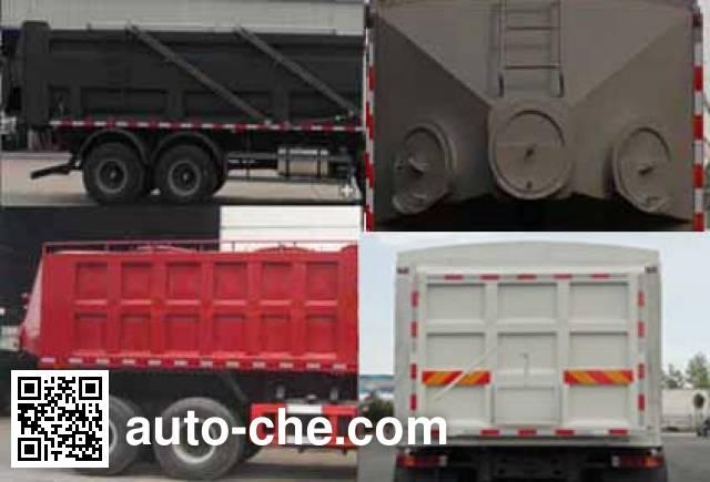 Sinotruk Huawin SGZ5310TSGZZ4J5 fracturing sand dump truck