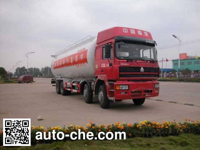 华威驰乐牌SGZ5311GFLZZ3K粉粒物料运输车