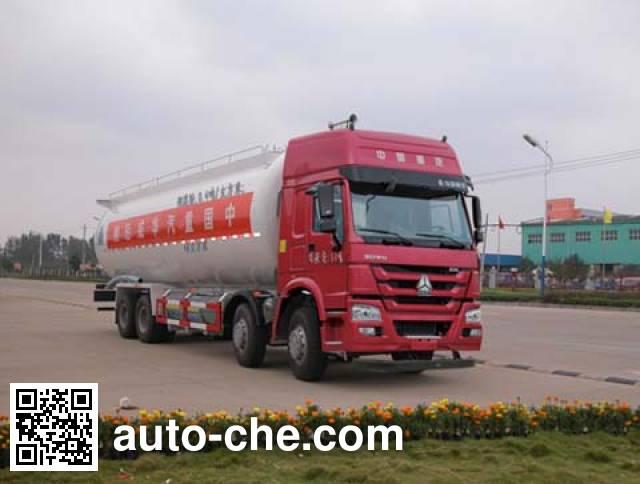 Sinotruk Huawin SGZ5311GFLZZ5WL low-density bulk powder transport tank truck