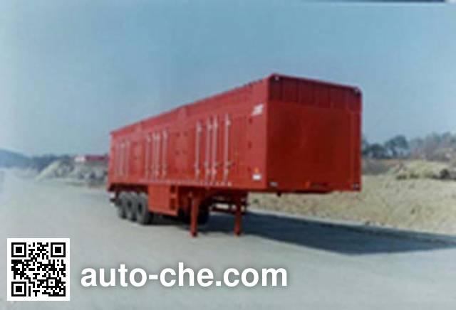 华威驰乐牌SGZ9280XXY厢式运输半挂车