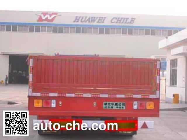 华威驰乐牌SGZ9391半挂车