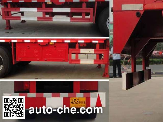 Sinotruk Huawin SGZ9400TPB flatbed trailer