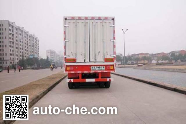 华威驰乐牌SGZ9401XXYA厢式运输半挂车