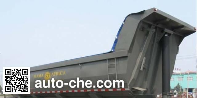 华威驰乐牌SGZ9401ZZX自卸半挂车