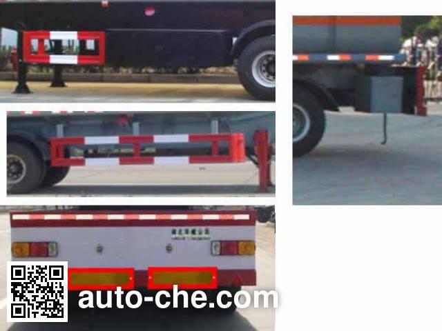 Sinotruk Huawin SGZ9402GHY chemical liquid tank trailer