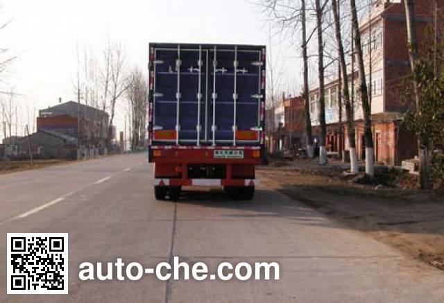 华威驰乐牌SGZ9402XXY厢式运输半挂车
